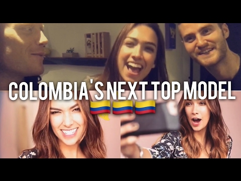 COLOMBIA'S NEXT TOP MODEL 💁🏻🇨🇴 Last Day in Colombia + Mi Águila Bogota Tour & Food // VLOG EP18