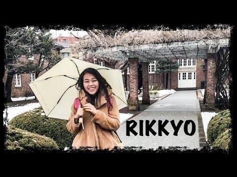 Campus tour : Rikkyo university, Ikebukuro, Tokyo || Exploring Japan Series