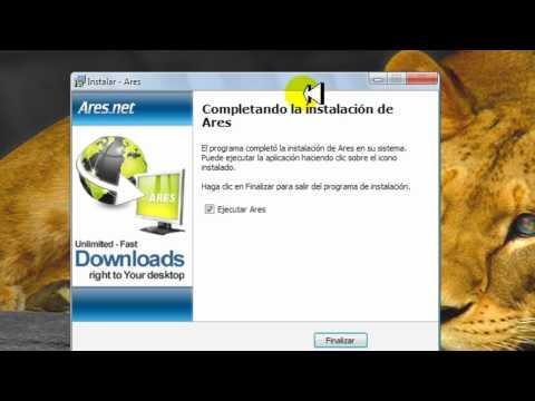 Como instalar Ares 2011 Actualizado al 100%