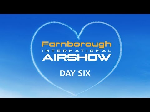 Farnborough international Airshow 2016 Saturday