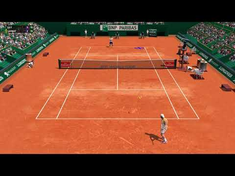Full Ace Tennis Simulator - ATP 250 Buenos Aires - Qualifier Round 1 - Career #30