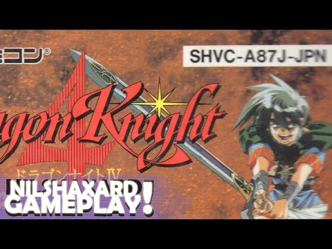 Dragon Knight 4 (Super Nintendo / Super Famicom) with commentary