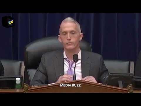 Trey Gowdy House Oversight Hearing With Inspector General Michael Horowitz 4/18/18
