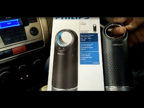 Philips Car Air Purifier Ac4030 Review And Demo Best By Hy Pumpkins