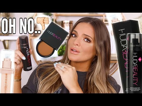 TESTING HOT NEW HUDA BEAUTY PRODUCTS.... THIS WAS ROUGH  | Casey Holmes thumbnail
