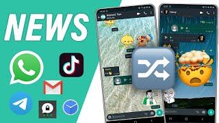 Wechselnde WhatsApp-Hintergründe und weitere NEWS