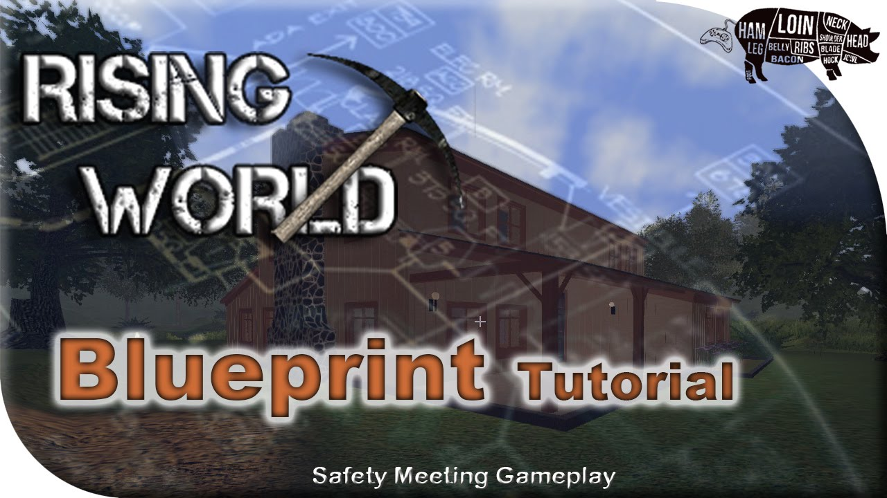 Rising world how to create a blueprint tutorial youtube rising world how to create a blueprint tutorial youtube malvernweather Images
