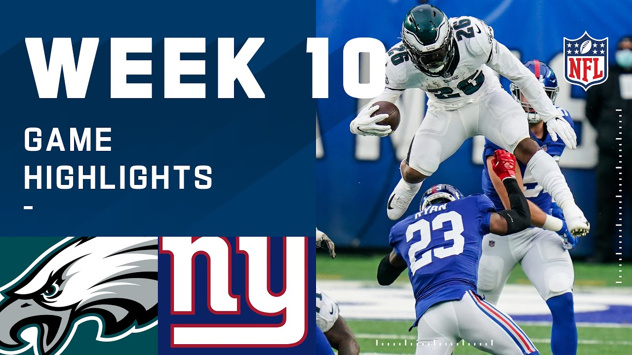 Giants soar over the Eagles for a 27-17 victory in the NFC East showdown.