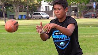 5th Grade Hawaiian Superstar : QB Kekahi Graham - UTR Spotlight