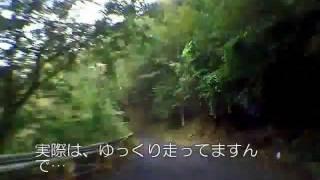 神奈川県道70号・秦野清川線 宮ヶ瀬北原~札掛橋