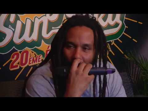 Conférence de presse de KY MANI MARLEY - Reggae Sun Ska 2017