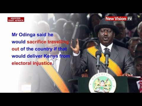 Around East Africa - Kenya's Odinga to swear in as people's president