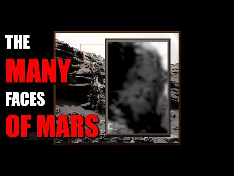 Faces on Mars!