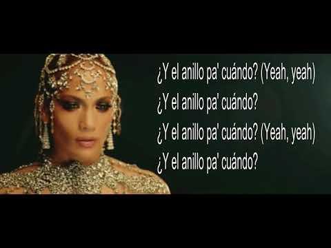 EL ANILLO Jennifer Lopez Letra