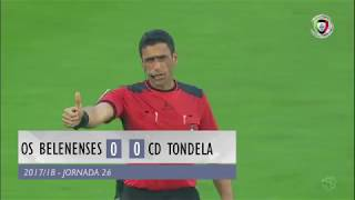 Video Gol Pertandingan Belenenses vs Tondela