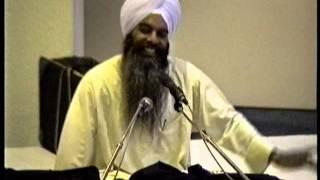 Sant Dhanwant Singh Ji Gurdaaspur vale @ Gurdwara El Sobrante Ca 5-27-99