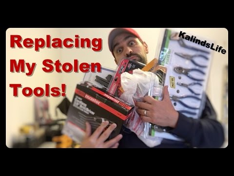 Replacing My Stolen Tool Collection! Harbor Freight Tools Haul