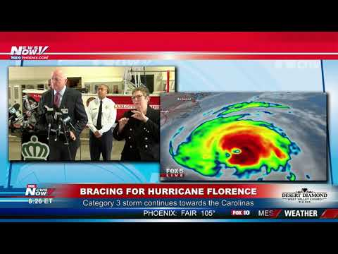 HURRICANE FLORENCE: Full Coverage From North Carolina, South Carolina