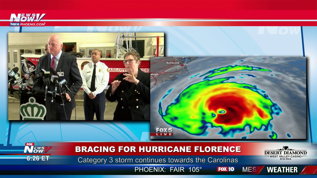 Hurricane Florence: More than 10 million under storm watch or warning