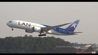 Lan 787-8 Dreamliner at Guarulhos GRU SBGR