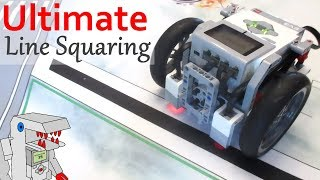 The Ultimate Line Squaring Program! - EV3 Navigation with Bendik Skarpnes