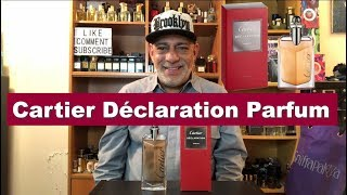 NEW Cartier Déclaration Parfum (2018) Fragrance Cologne REVIEW + GIVEAWAY (CLOSED)