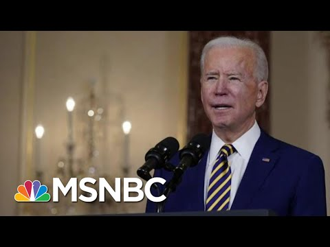 WH Trying To Stay Focused On Covid Relief As Trump Impeachment Trial Begins | MTP Daily | MSNBC