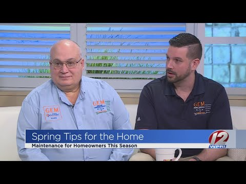 Spring tips for homeowners