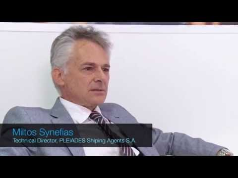 Interview of Miltos Synefias, Pleiades Shipping Agents S.A.