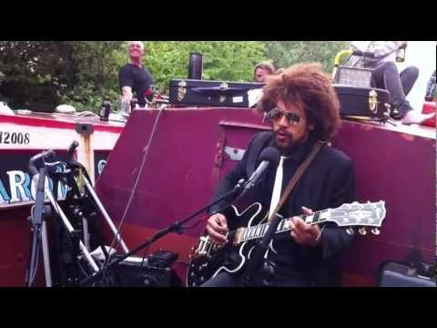 Lewis Floyd Henry - Canal Boat Album launch Party- One Man and his 30 watt pram