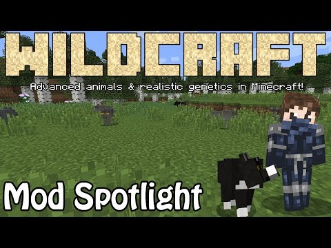 WildCraft: Advanced Animals & Genetics in Minecraft! | Mod Spotlight