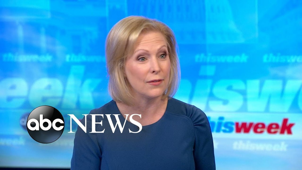 ABC News:Buybacks 'the biggest tool in your toolbox' on gun control: Gillibrand
