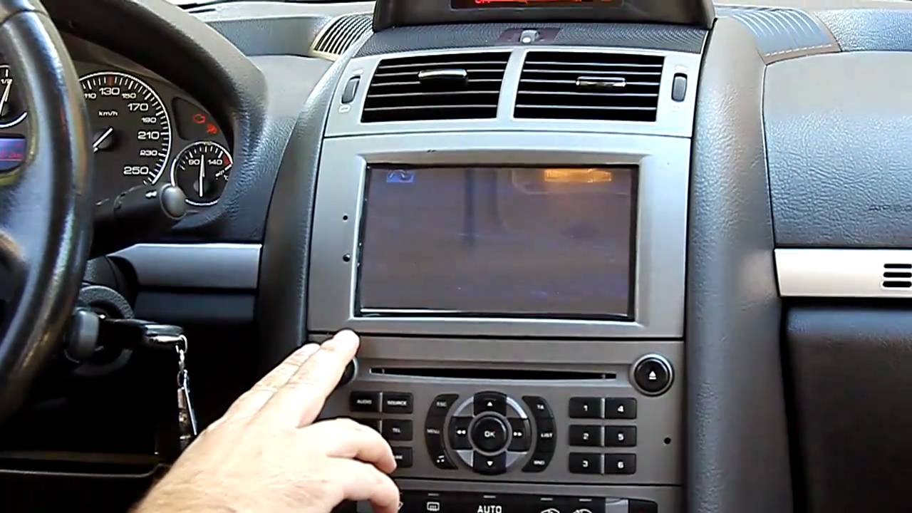 my peugeot 407 gps installed doovi. Black Bedroom Furniture Sets. Home Design Ideas
