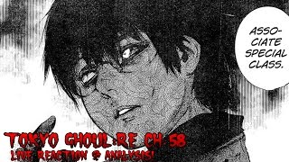 Tokyo Ghoul:re Ch. 58 LIVE REACTION & Analysis: Eto Bathtub Sexiness & Black Reaper Kaneki!