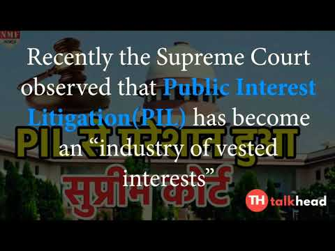 The dark side of PIL in Indian judiciary