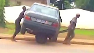 Crazy AFRICAN CAR TOWING company WINS!!!