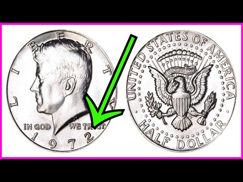 COIN ROLL HUNTING $500.00 BOX OF KENNEDY HALF DOLLARS FOR SILVER & RARE COINS WORTH MONEY!