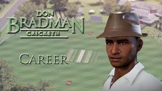 VERY FIRST MATCH - Don Bradman Cricket 14 Career Ep 2 (w/ Facecam)