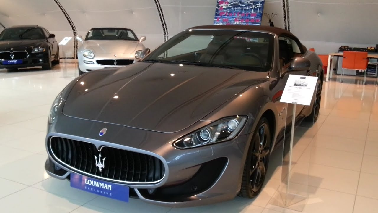 Maserati granturismo grancabrio 2015 in depth review for Maserati granturismo s interieur