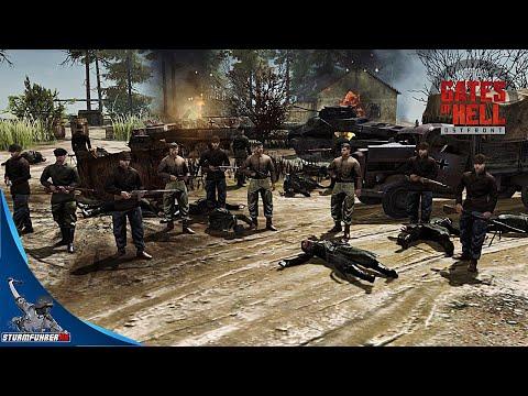 PARTISANS ambush german convoy | GATES of HELL Editor Battle #1 |
