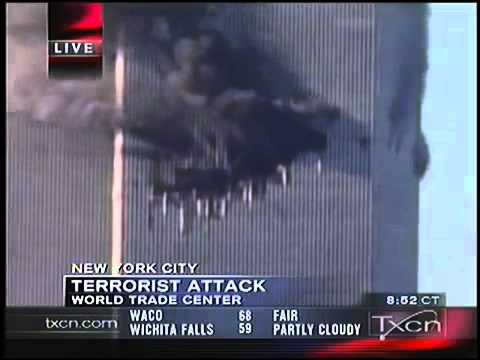 9/11 News Coverage - Texas Cable News TXCN September 11, 2001 9.45am - 10.00am