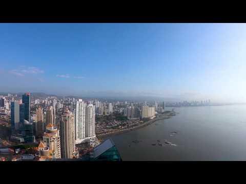 Panama City Skyline - 4K Time-Lapse