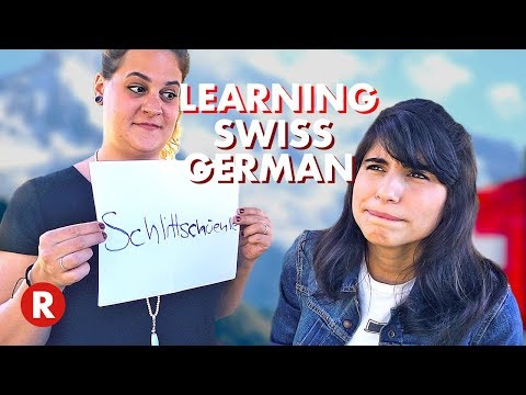 American Trying To Speak Swiss German (ft. ByeByeMimi)