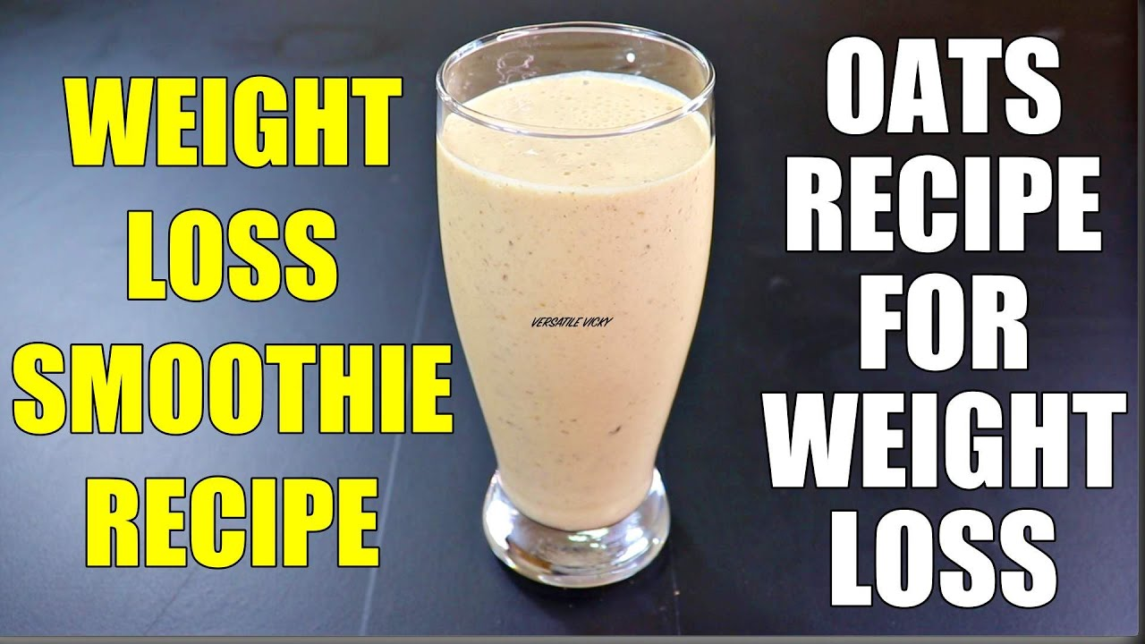 Healthy Smoothie Recipes For Weight Loss Lose 3kg In A Week Breakfast Smoothies For Weight Loss Youtube