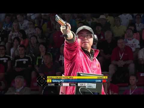 Чемпионат мира 2014, пневматический пистолет, мужчины