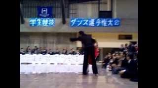 金光進陪 吉田奈津子組 サンバ 2010年度ツバメ杯デモ.