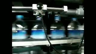 Body & cap sleeve labeling machine by double head.