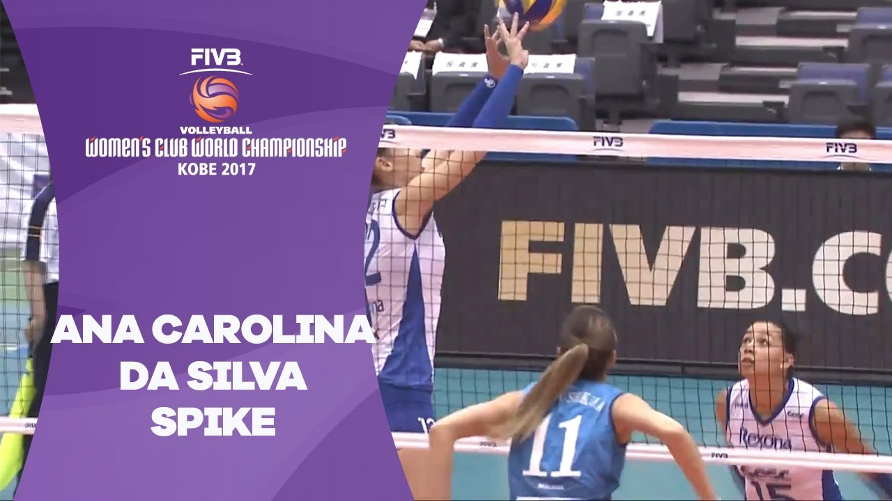 Strong spike from Carolina - Women's Club World Championship 2017 Kobe
