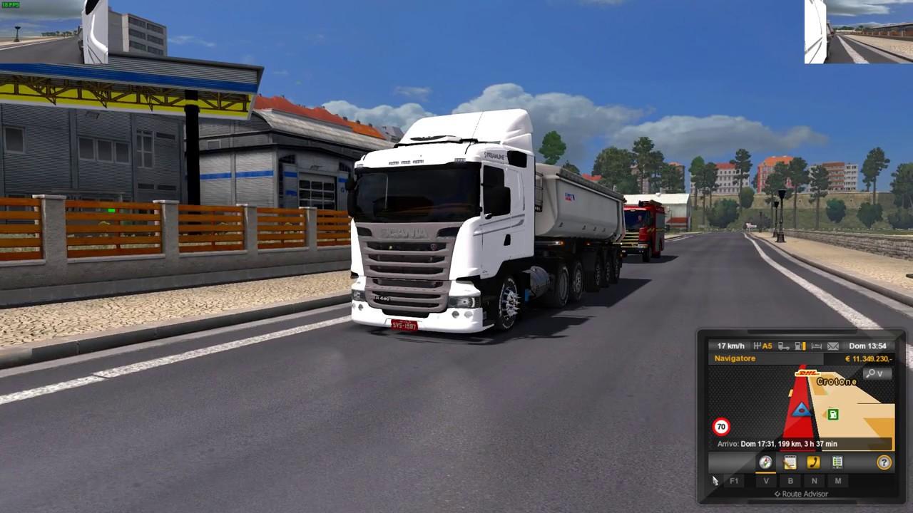 Euro truck simulator 2 1 28 scania download canal reverse dlc s mods