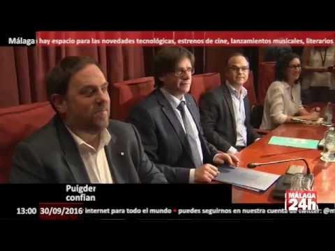 Puigdemont supera la cuestión de confianza con el apoyo de la CUP